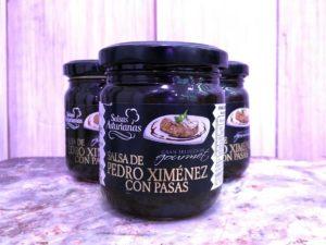 Salsa de Pedro Ximénez con pasas de La Vaca Vallekas